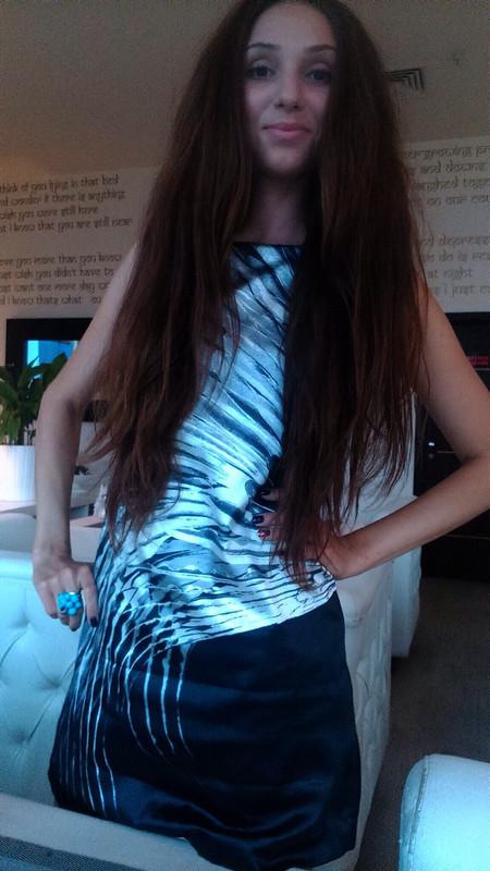 Черное платье «ПЕРЬЯ»