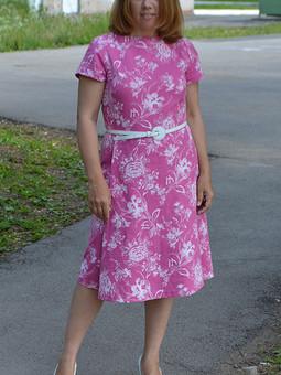 Работа с названием Жизнь в розовом цвете