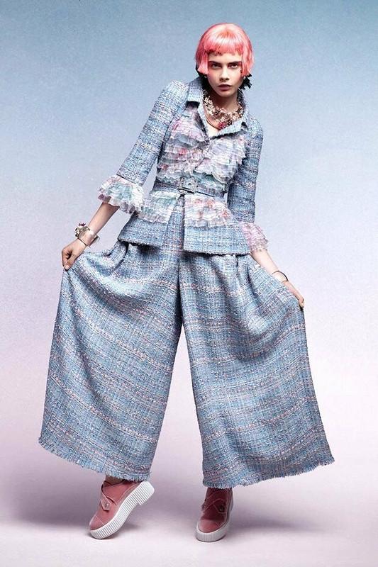 Круизный Chanel настаринный манер от Nelly Trines