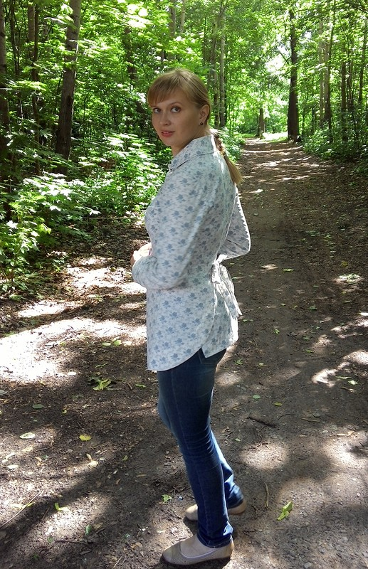 Рубашка-фартук от ФросяХадося