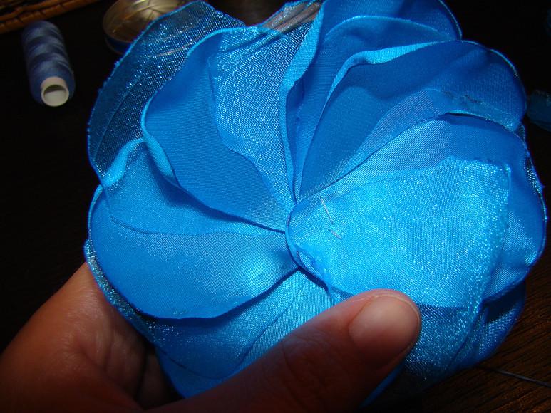 Цветок изатласа иорганзы