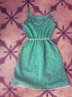 Работа с названием Платье для девочки