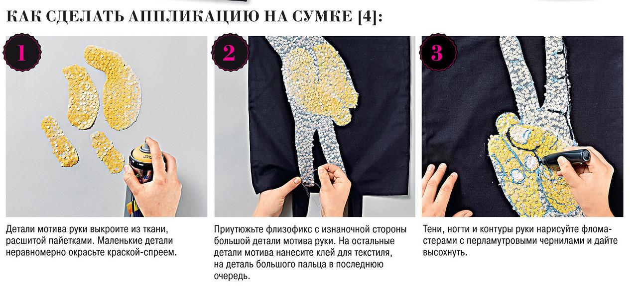 Аппликации длямолодежной одежды