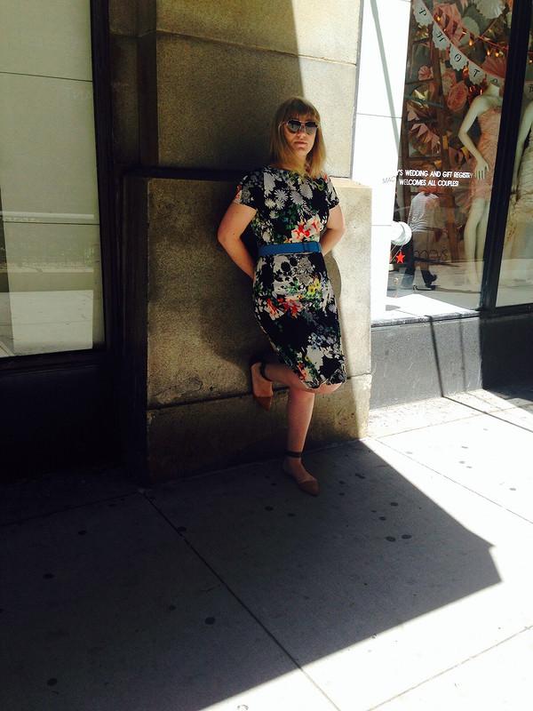 Платье. Лето... Работа