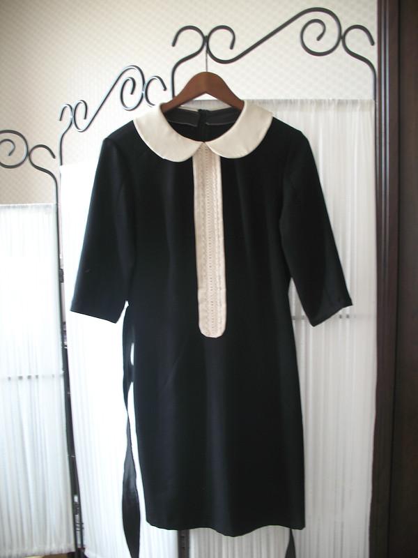 Платье спластроном
