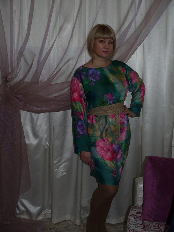 Платье спионами