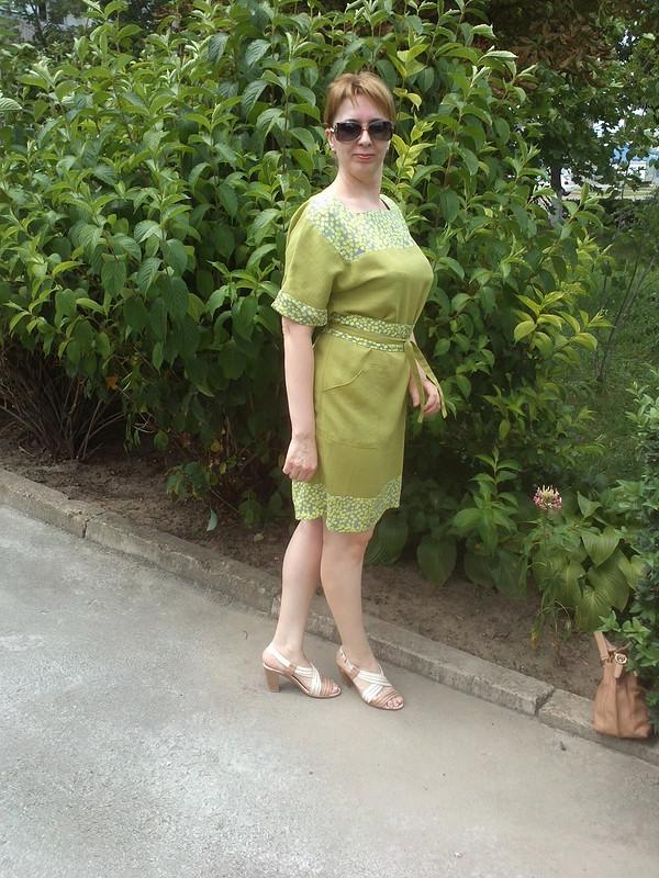 Платье 7/2014 № 109 или зеленее зеленого