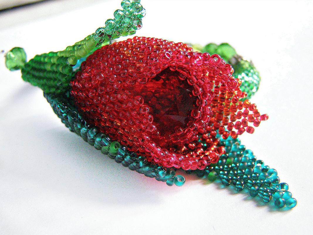 браслет «Аленький цветочек»