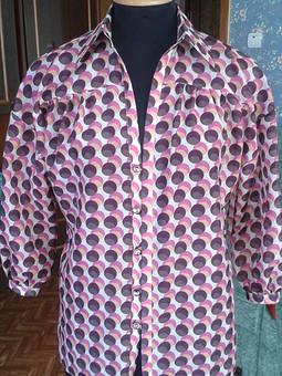 Работа с названием блуза в горошек