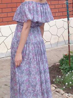 Работа с названием платье июля