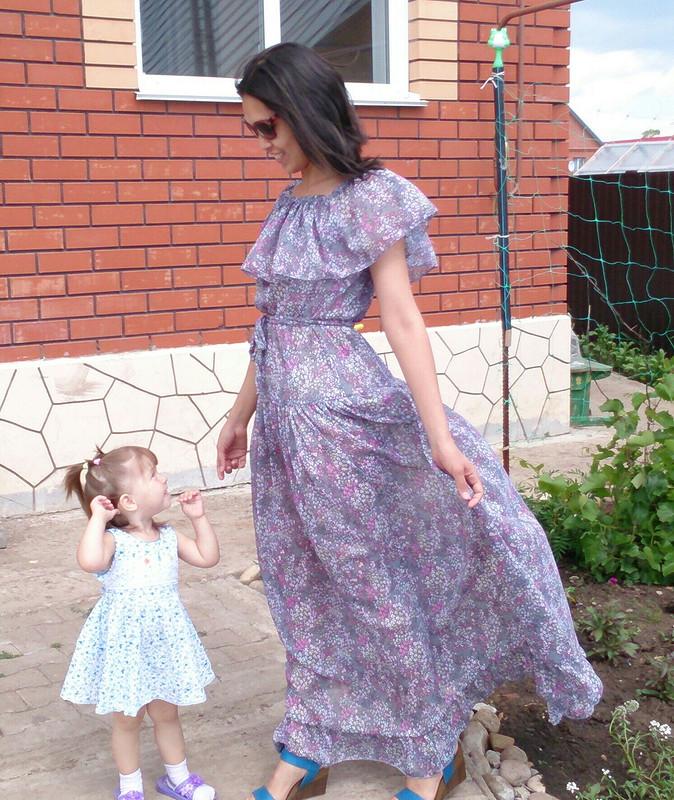 платье июля