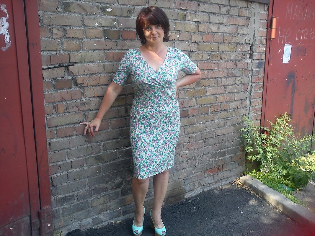 Знакомое платье