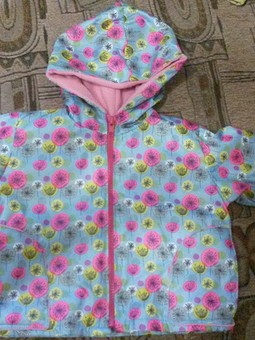 Работа с названием Курточка для дочи