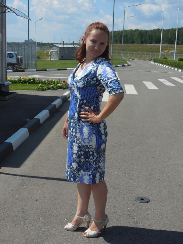Моя Гжелька)))