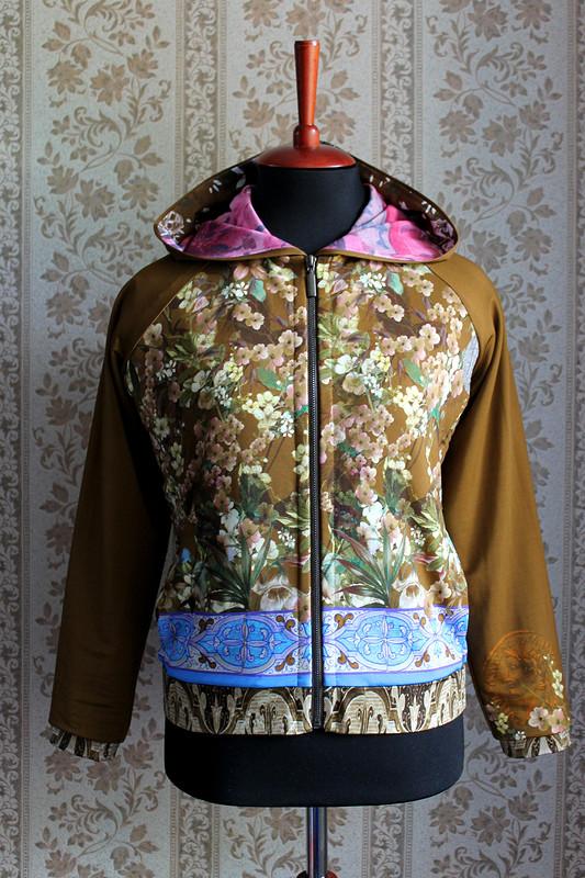 Куртка изтрикотажа Dolce Gabbana