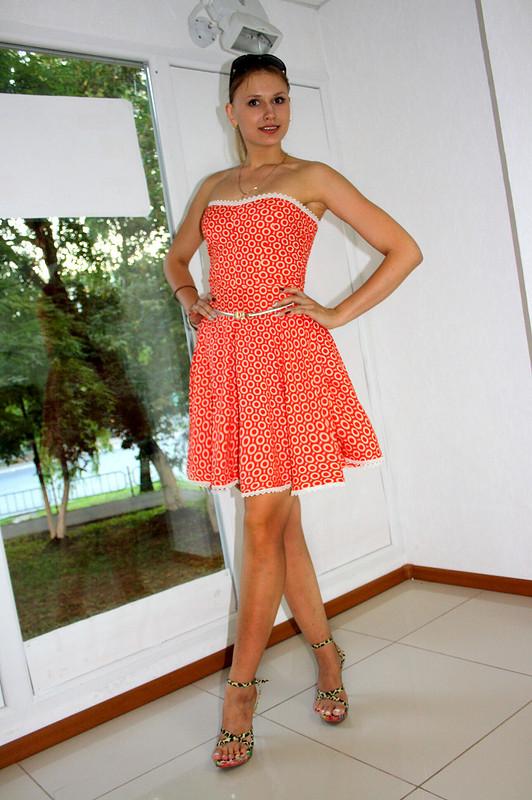 Платье Солнышко вкружевах от ВероникаДанилова