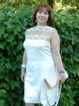 Работа с названием платье по мотивам версаче