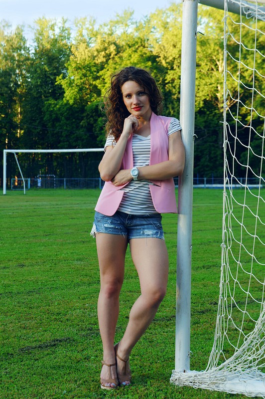 Pink & Jeans)))