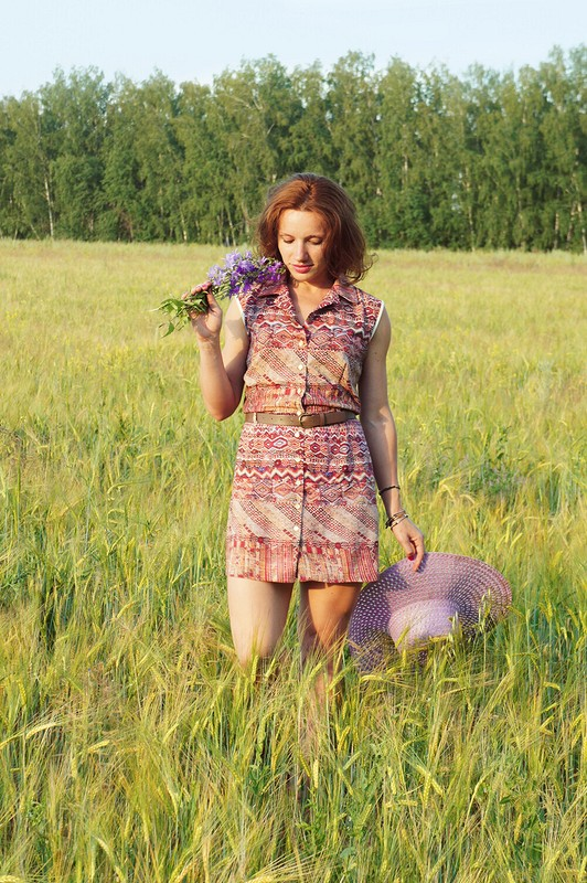 Middle of summer)