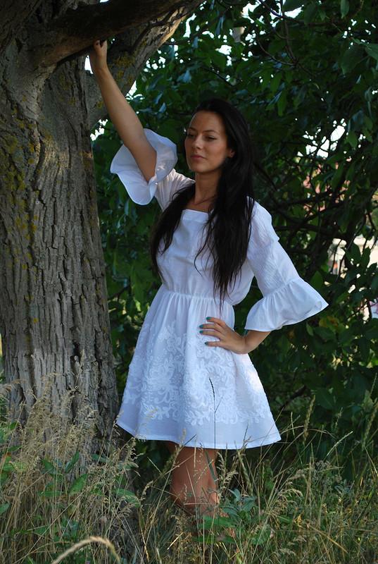 В Бурде блузка, а уменя - платье!