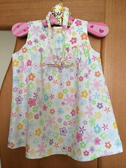 Работа с названием платьешко для малявушки