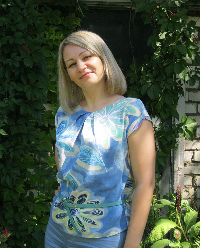 Дуэт (брючки + блузка)