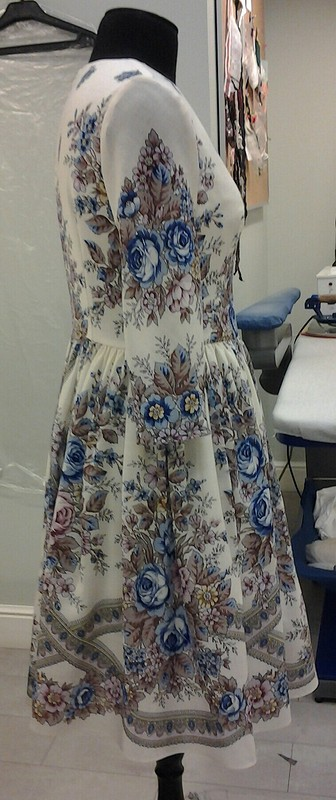 Платье «Аромат лета»