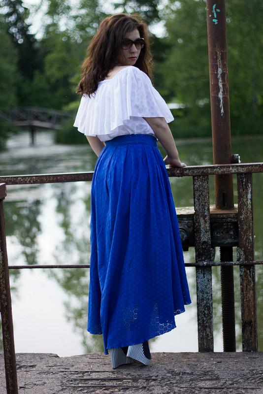 юбка иблуза цыганки :)
