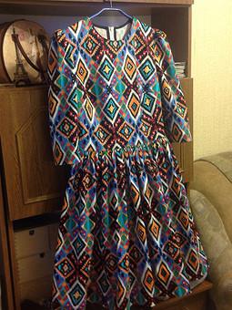 Работа с названием И снова платье!
