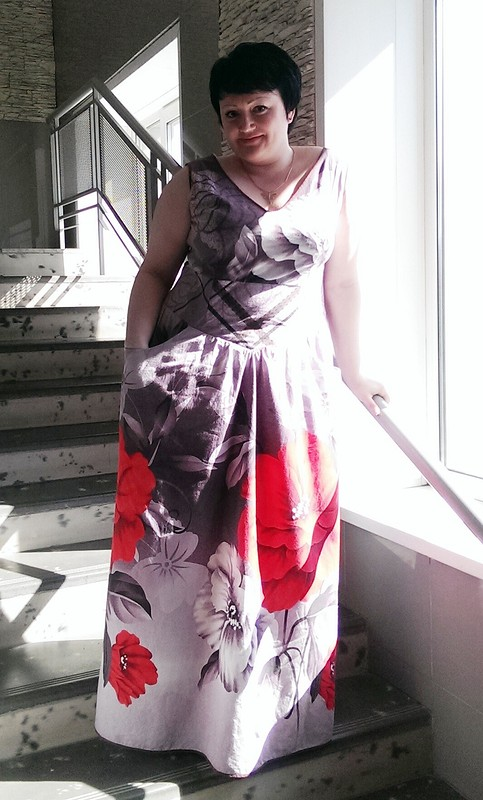 Хлопковый сарафан из7 номера