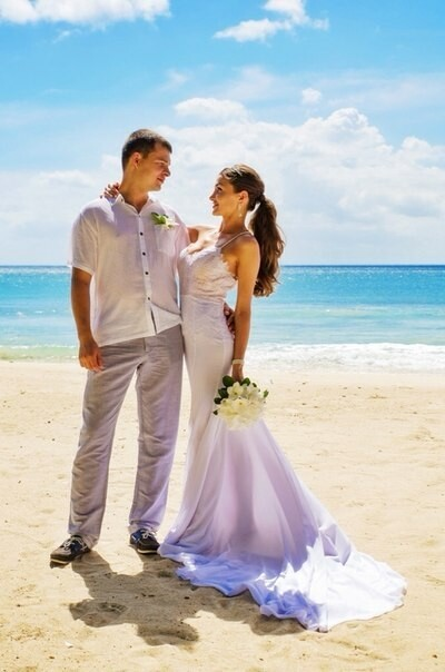 Для свадьбы наостровах