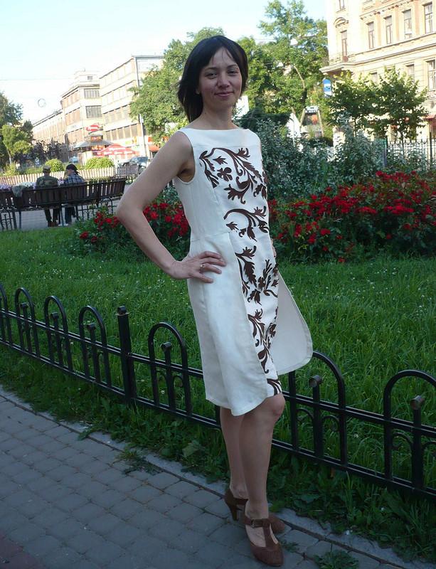 Окрыленная платьем
