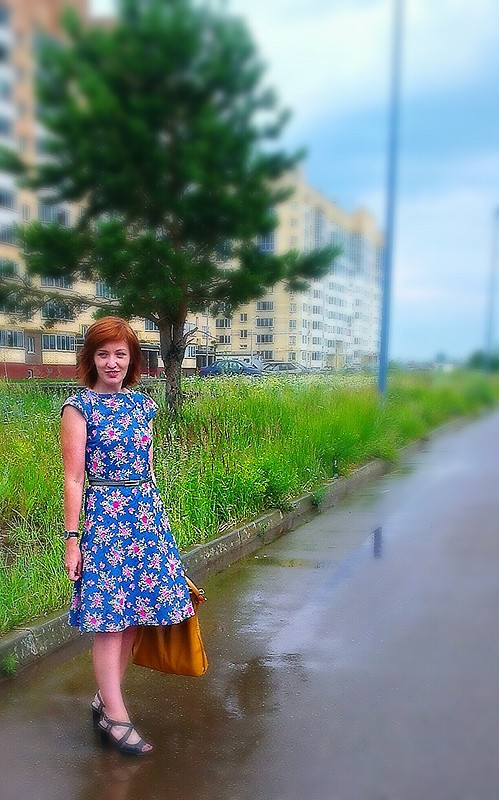 Платье изюбки
