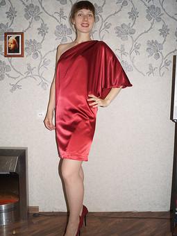 Работа с названием Платье на вечер