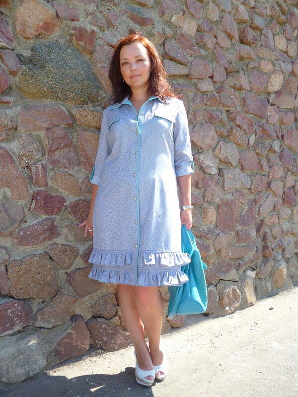Хотелось платье-рубашку
