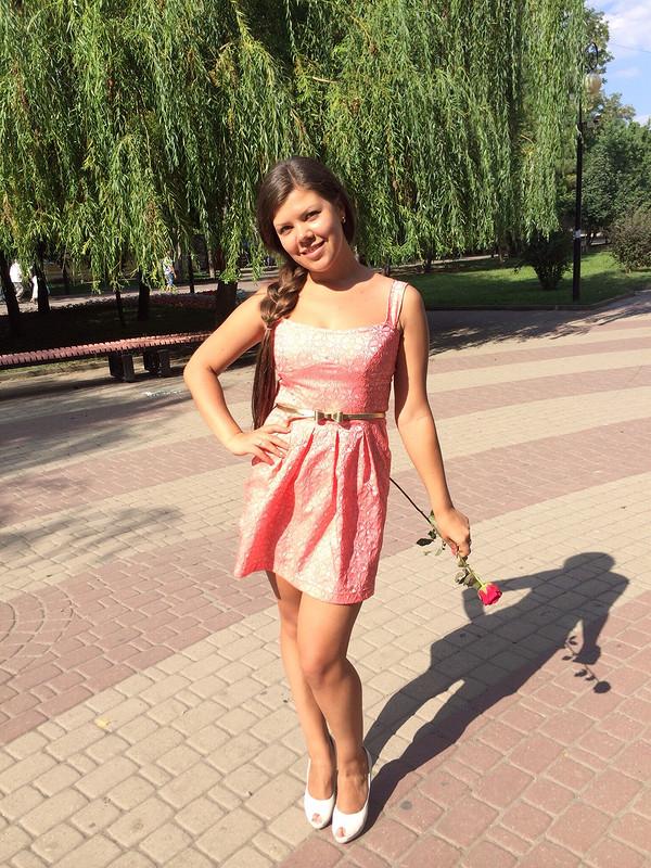 Платье цвета розовой пудры!