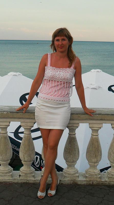 Бело-розовый плагиатик