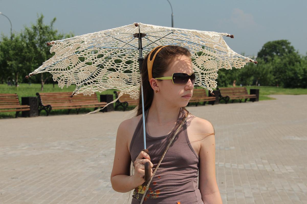 Ажурный зонтик
