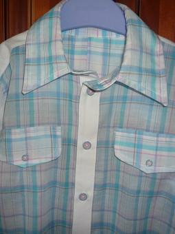 Работа с названием Батистовая рубашка для сына