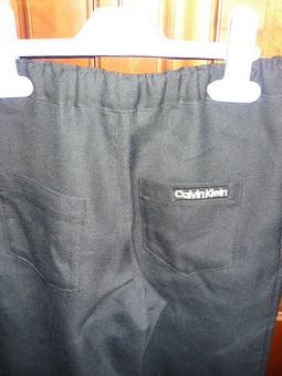 Работа с названием Льняные брюки для сына