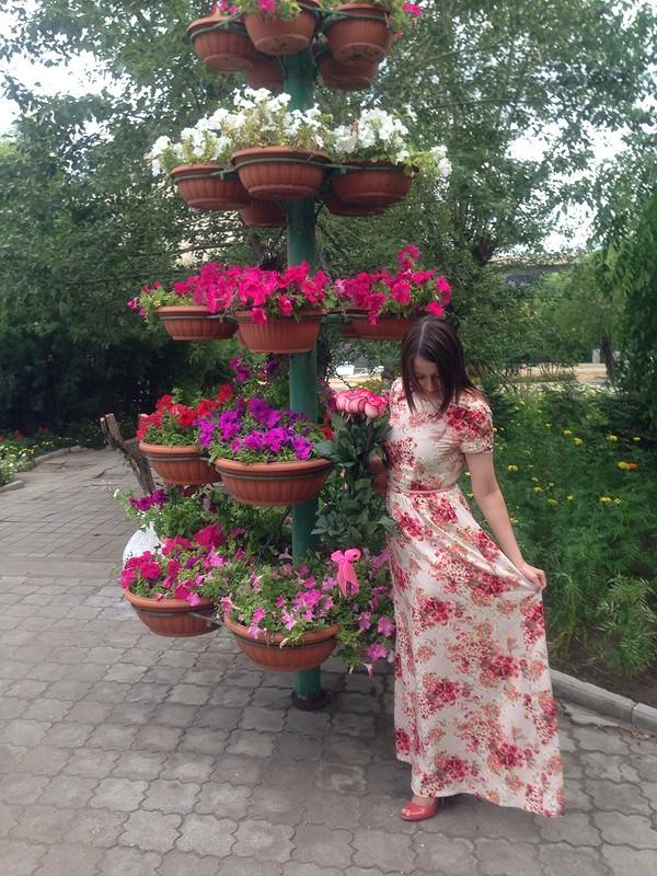 Вся вцветах