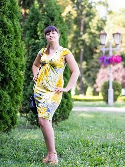 Работа с названием Мое солнечное платье