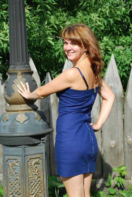 Льняная свадьба - льняное платье