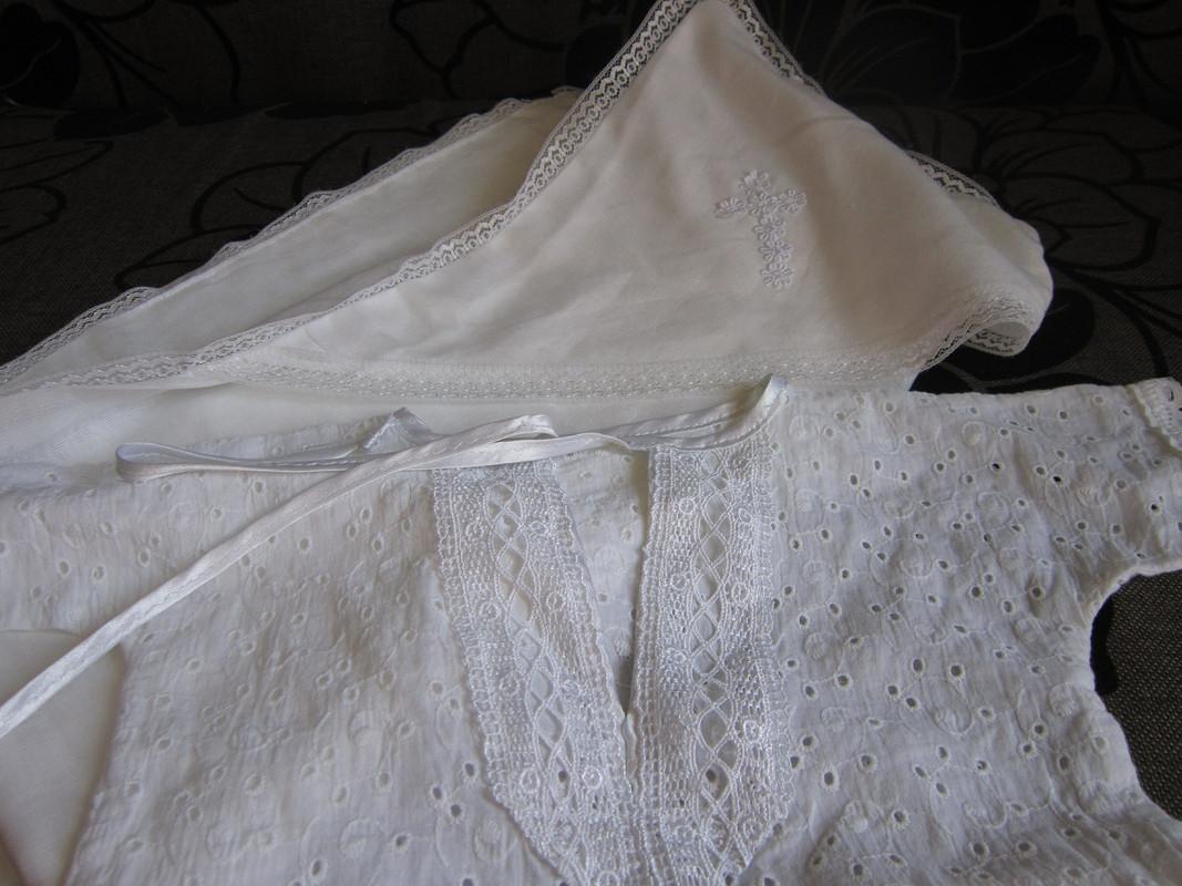 Крестильная рубашка длясыночка