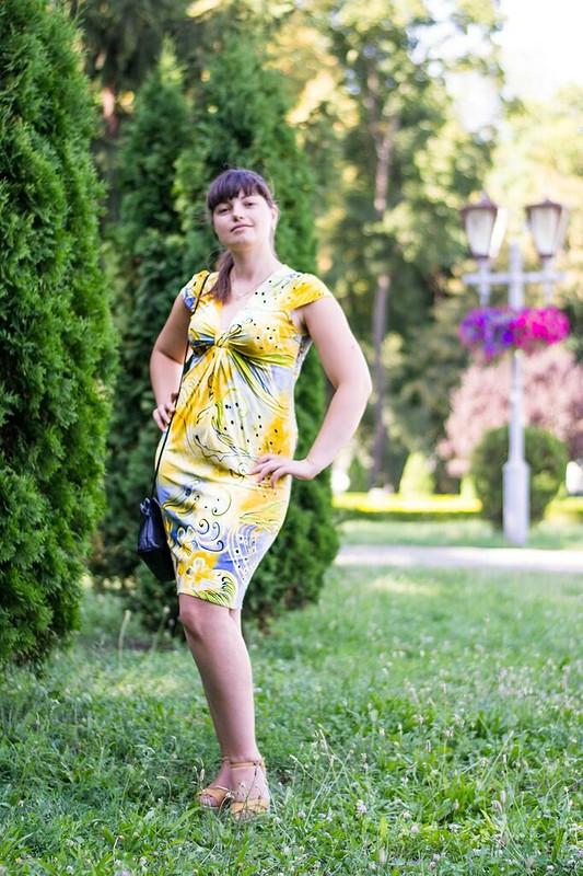 Мое солнечное платье от valen_tina