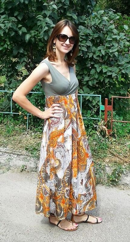 Платье «Осеннее лето»