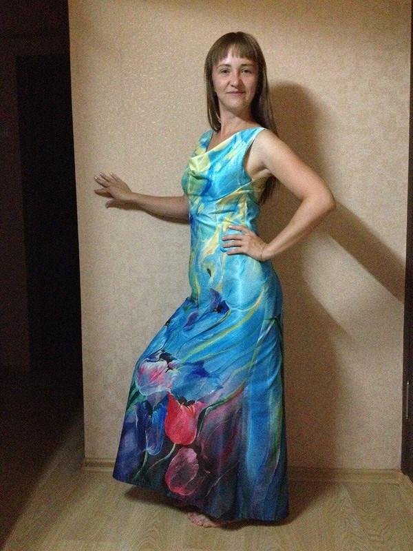 платье-качели