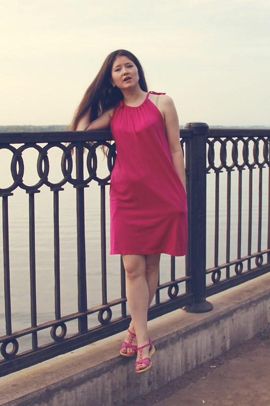 «'O sole mio...» (комфортное платье) от Suzanna-Suzy