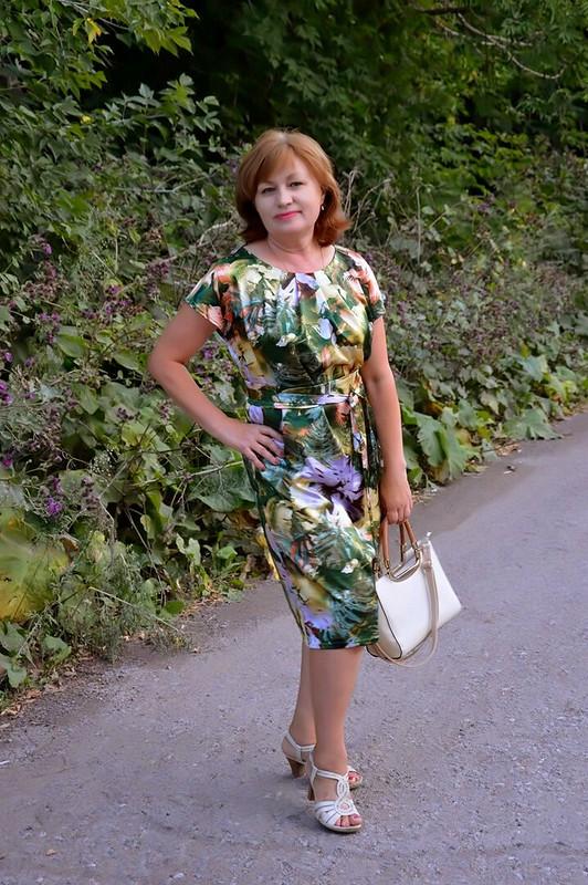 Платье как визитная карточка burdastyle