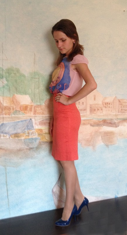 Коралловый фламинго от Ekaterina_L